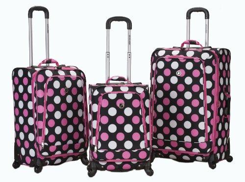 rockland-luggage-fusion-3-piece-luggage-set-mulpink-dots-medium