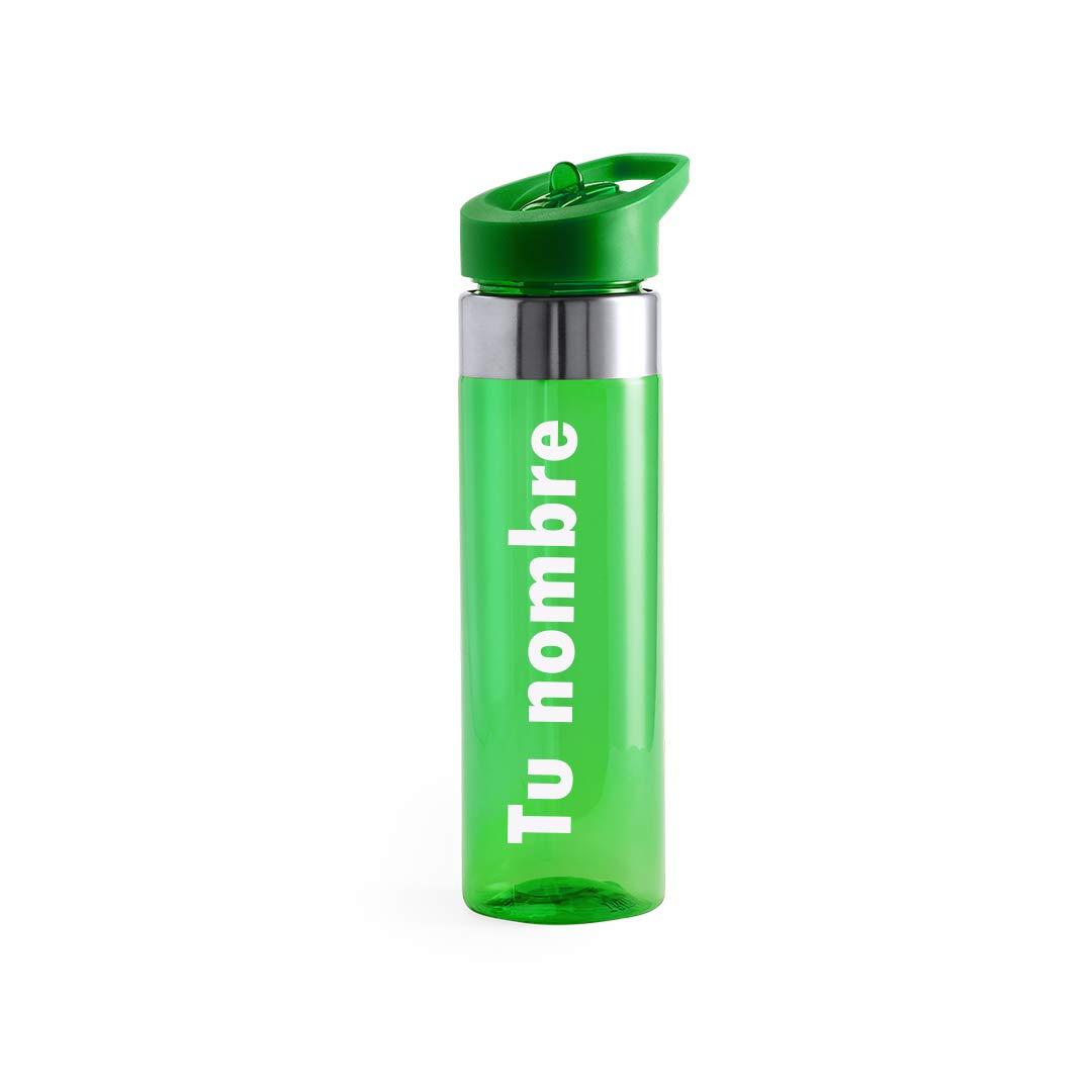 Gimnasio Yoga BPA Tritan Pl/ástico Reutilizables Ecol/ógica con Filtro Curia Grabador Botella de Agua Personalizada con tu Nombre Water Bottle para Ni/ños /& Adultos Oficina