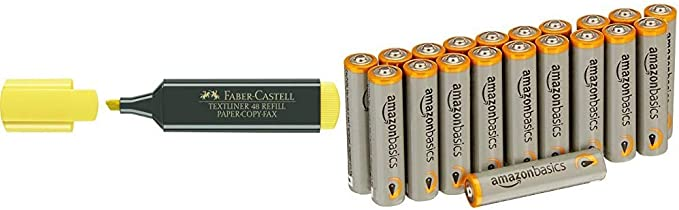 Faber-Castell 154807 - Caja con 10 marcadores fluorescentes ...