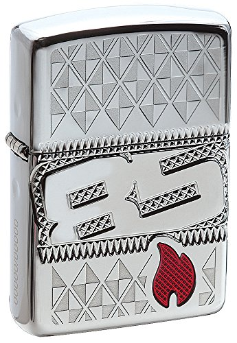 Zippo 2017 Collectible of The Year Armor High Polish Chrome Pocket Lighter (Armor Zippo Case)