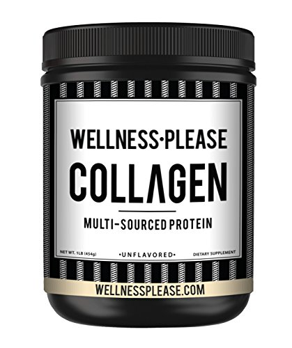 Cheap Wellness•Please™ is a Multi-Collagen Protein Powder – Our hydrolyzed Collagen Powder is a peptide Blend of Cage-Free Chicken, Grass-Fed Bovine, Wild Caught Fish, Eggshell & Two Types of Bone Broth