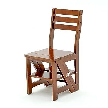 LAXF-taburetes altos cocina sillón Silla de escalera ...
