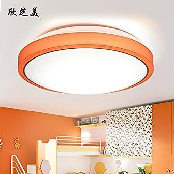 Electrodeless Dimmen Wohnzimmer Lampe LED Deckenleuchte Schlafzimmer Lampe  Warm Romantischen Kreative Lampe Restaurant Runden Lampen,