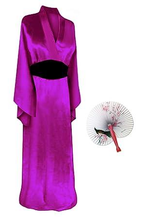 b1611dde904 Solid Purple Geisha Robe Plus Size Supersize Halloween Costume Basic Kit  1X-2X