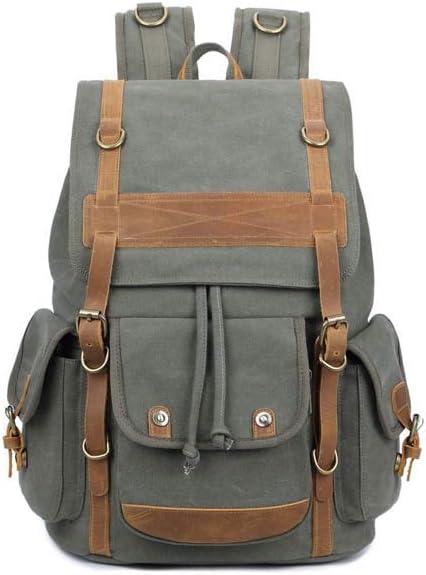 Zehaer Climb Backpack Vintage Backpack Durable Business College Travel Daypacks Casual College Bag