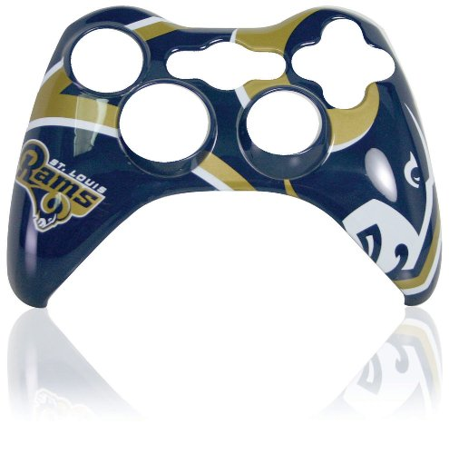 Xbox 360 Official NFL St. Louis Rams Controller Faceplate (Xbox 360 Official Nfl)
