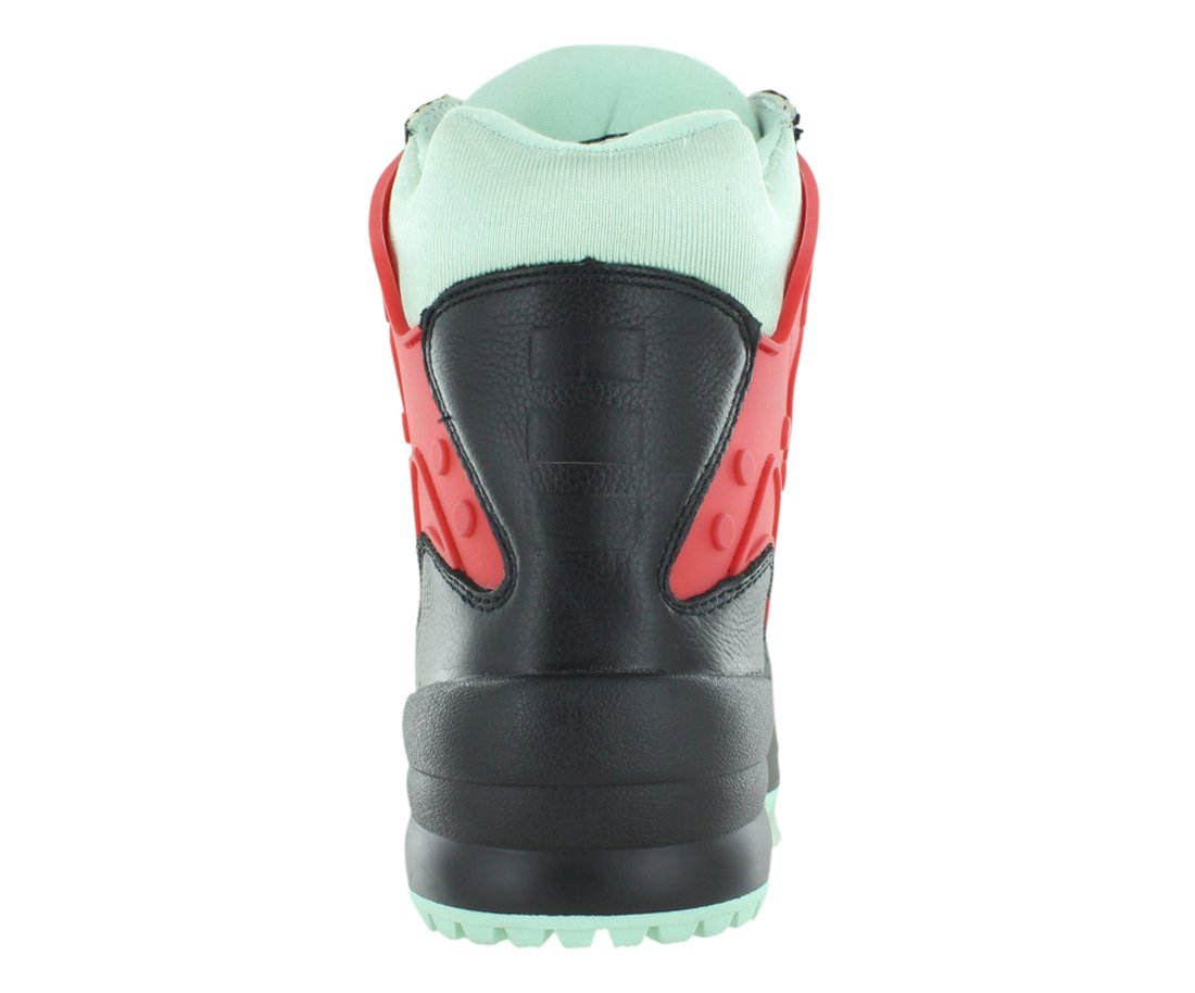 Sumikko Zummo Boys Waterproof Boots Size US 5, Regular Width, Color Black/Red/Mint