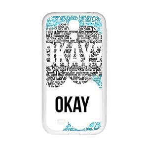 Happy Creative design Okay letter Cell Phone Case for Samsung Galaxy S4