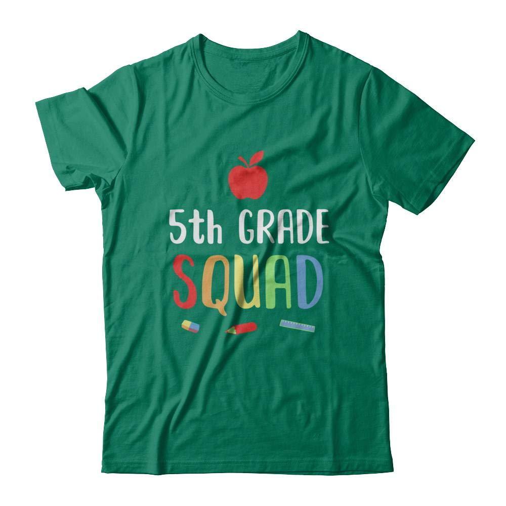 5th Grade Squad Back To School Tea Fifth Grade Shirt Short Sleeve Tee