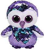 Ty Flippables Moonlight the Owl Sequin Soft Toy