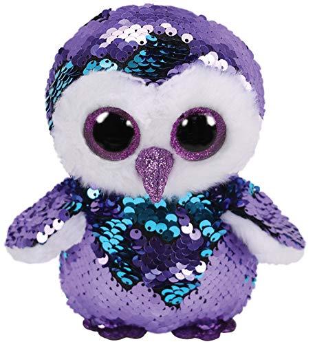 Ty - Beanie Boos - Flippables Moonlight Owl /toys (Owl Beanie Boo Purple)
