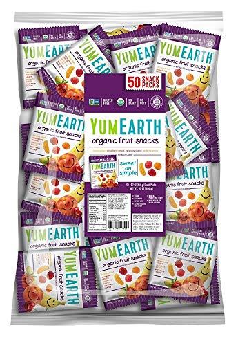 YumEarth Organic Fruit Snacks, 50 snack