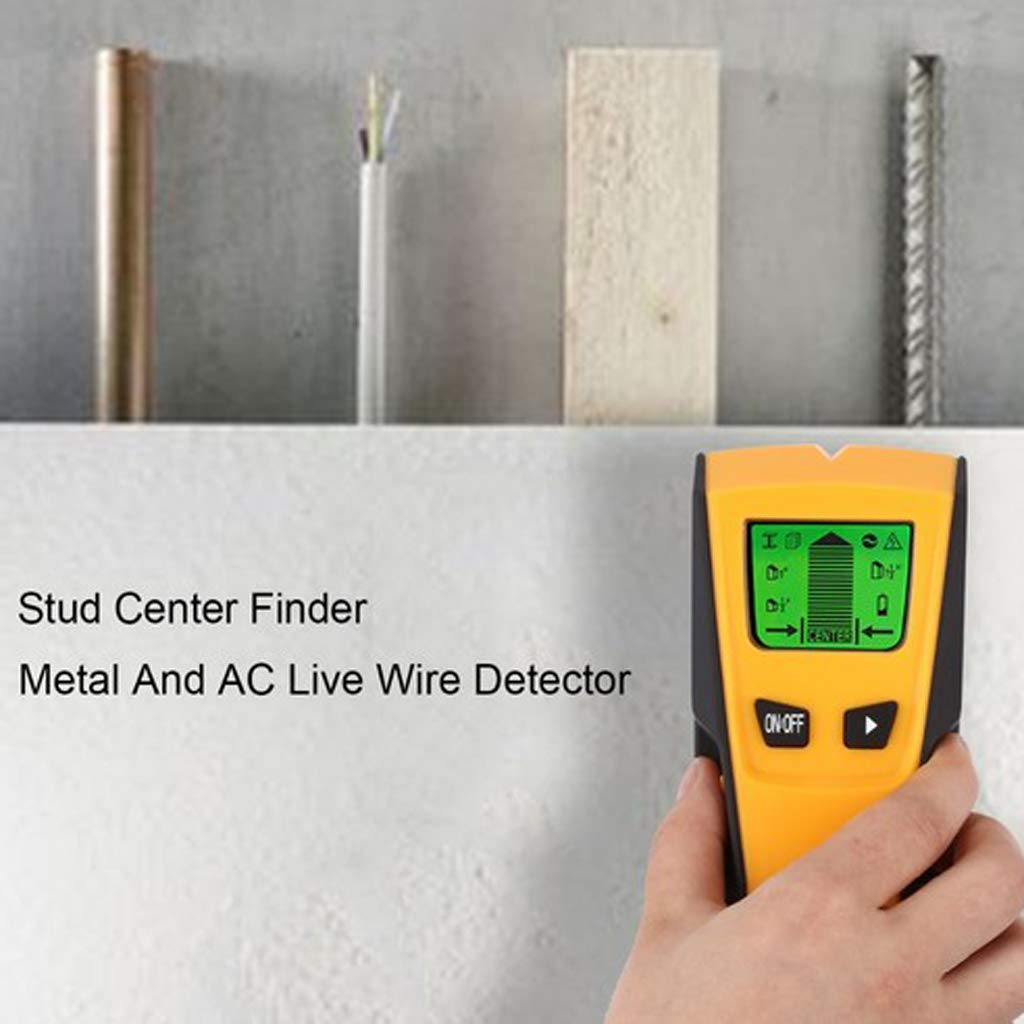 MagiDeal 3 In1 LCD Wall Detector Metal Wood Studs Finder AC Cable Live Wire Scanner: Amazon.es: Bricolaje y herramientas