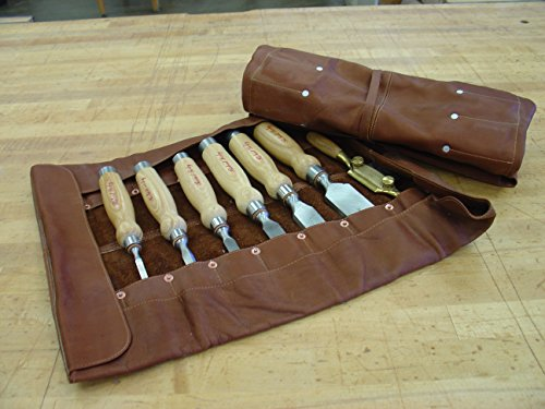 Leather Chisel Roll by Craftsman Collection by PIEL (Image #2)