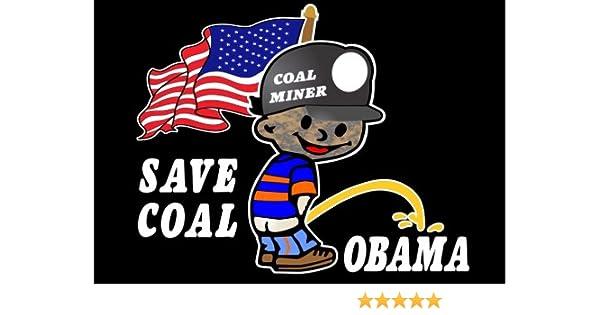 Coal miner piss obama