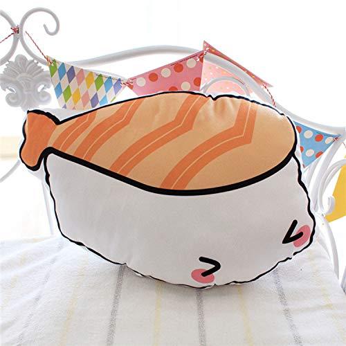 Almohada de Felpa,Simulación Sushi Food Pillow Cojín de ...