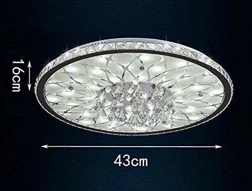 Vingo Led Kronleuchter Modern Deckenleuchte Kristall ~ W led deckenleuchte europäische runde kristall deckenlampe