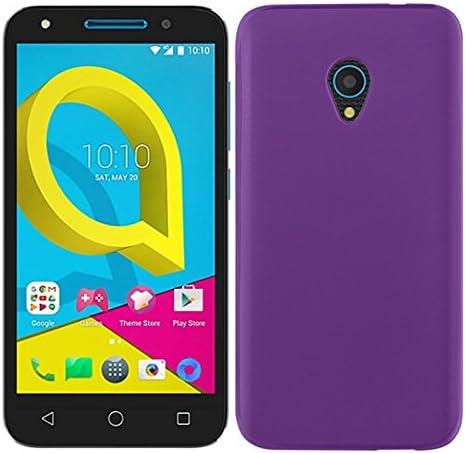 5.0 Pulgadas No es Compatible con el Alcatel U5 3G /– U5 Plus 5.0 Pulgadas TBOC/® Funda de Gel TPU Azul para Alcatel U5 4G de Silicona Ultrafina y Flexible.