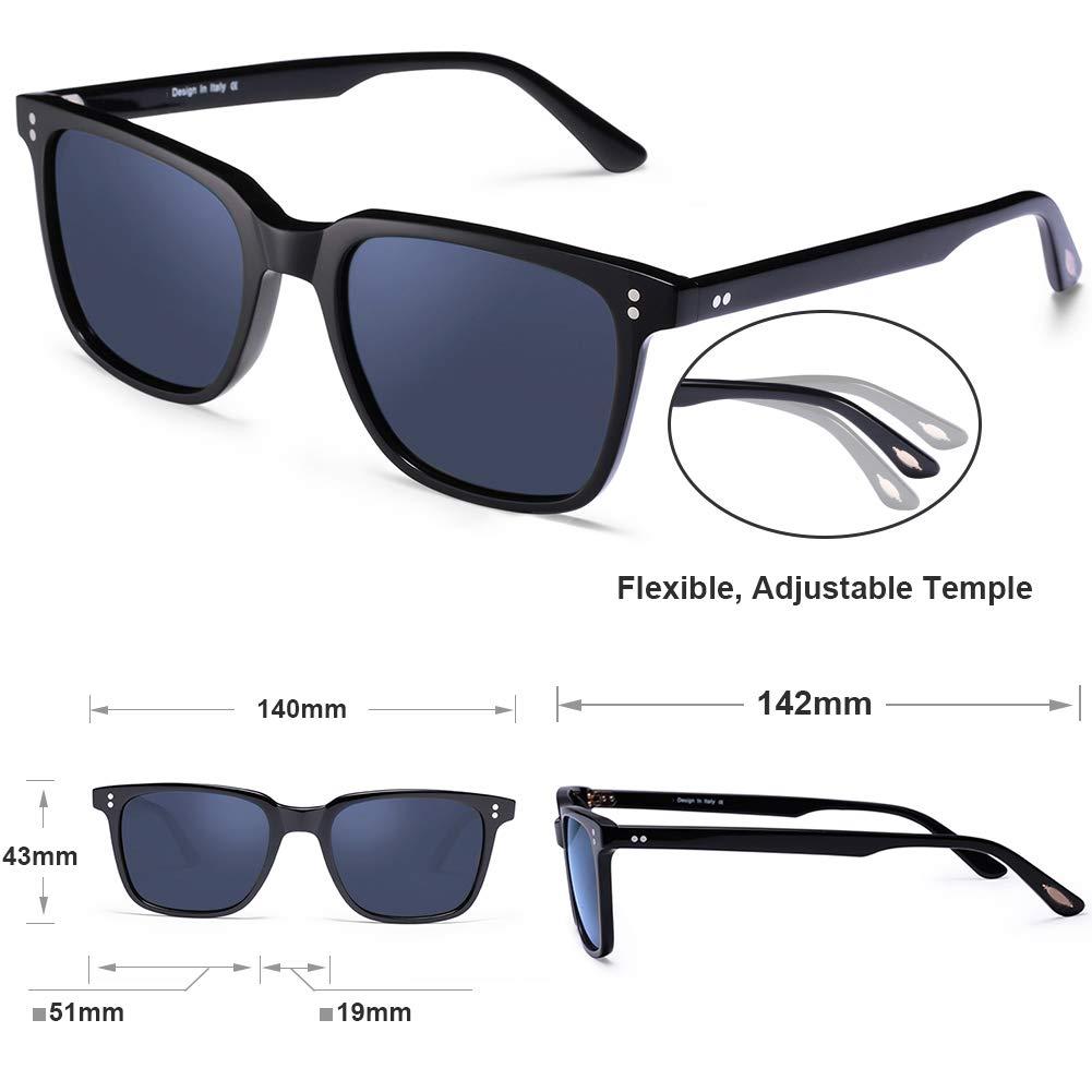 Green Lens, Polarized UV400 Sunglasses Carfia Chic Retro Polarized Sunglasses for Women 100/% UV400 Protection Driving Outdoor Eyewear