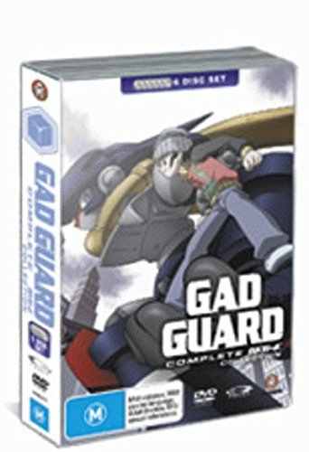 Gad Guard Complete Collection | 6 Discs | Anime & Manga | NON-USA Format | PAL | Region 4 Import - Australia