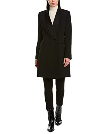 hot sale great varieties discount sale Karen Millen Womens Tuxedo Coat, 2, Black at Amazon Women's ...