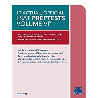 Lsat logic games do it yourselfore 10 actual official lsat preptests volume vi preptests 7281 malvernweather Choice Image