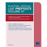 10 Actual, Official LSAT PrepTests Volume VI: (PrepTests 72–81)