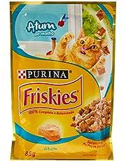 Friskies Ração Úmida Para Gatos Adultos, Purina