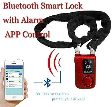 Inteligente Bluetooth CQJDG con alarma APP Control candado para ...