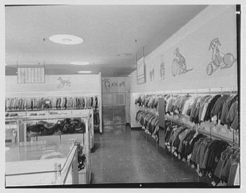 Photo: Gimbel Brothers,business in Cross County Center,Yonkers,New York. Boys 3 to - Yonkers Cross County