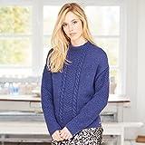 5f8a1cbf60bbd Ladies Sweater JB224 Knitting Pattern from James C Brett. Sizes 81 ...