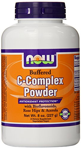 NOW Foods Vitamin C-complex, 8 - Complex C Vitamin Buffered