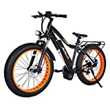 Addmotor MOTAN 26 Inch Electric Bicycles 1000W...