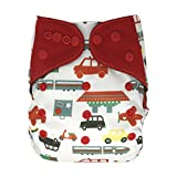 All In One cloth diapers are available in many designs for baby girls, boys and gender neutral. It's a great baby shower gift for any parent who is interested in cloth diapering. Easy to use, AIO cloth diaper is perfect stash starter f...