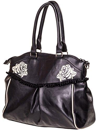 Noir Bag Banned amp;roses Bag Banned Skulls a7nvw