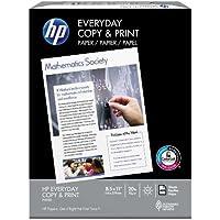 HP Printer Paper, Copy and Print Copy Paper, 20lb, 8.5 x 11, Letter,  92 Bright - 1 Pack / 400 Sheets (200010R)