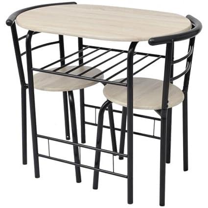 Cucina colazione bar tavolo e 2 sedie per sala da pranzo set Compact ...