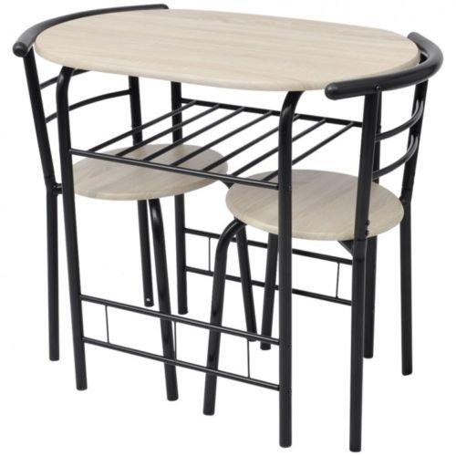 Amazon De Küchentisch Mit 2 Stühlen Für Kleine Räume