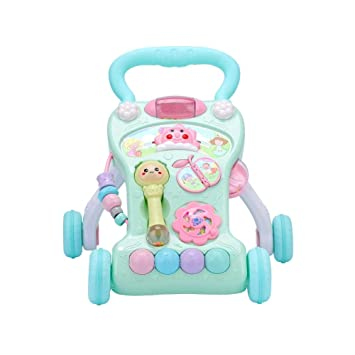 Amazon.com : Per Newly Baby Walker Trolley Toy Baby Stroller Toys Anti-Rollover Walker Multifunctional Learning Table Toy for Infants Boys Girls : Baby