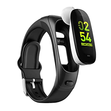 OOLIFENG 3 En 1 Pulsera Inteligente Pulsera Deportiva Relojes Bluetooth Auricular Inalámbrico Fitness Tracker para iPhone Android,Black: Amazon.es: Deportes ...