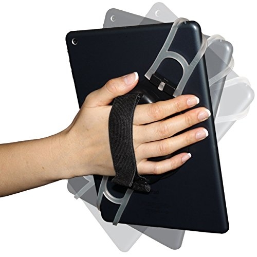 Aleratec Universal Tablet Hand Strap Holder for 7-10 Inch Tablets (Handheld Tablet Holder)