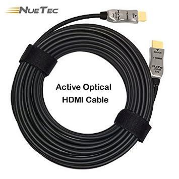 nuetec – aoc18g serie – híbrida de fibra óptica Cable HDMI. El Máximo 4 K