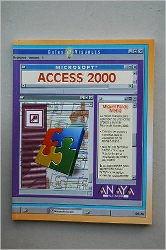 Access 2000 (Guias Visuales)