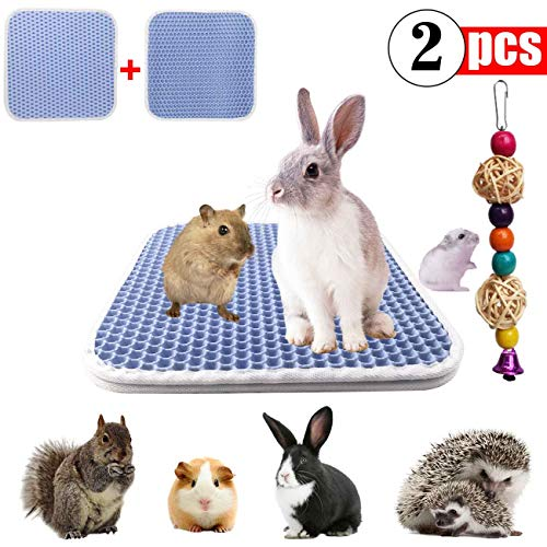 GABraden Guinea Pig Bedding,Urine Waterproof Extra Absorbent Antibacterial,Small Animal Bunny Bedding,Mat for Guinea Pig Parrot Rabbit Bunny Hamster Rat
