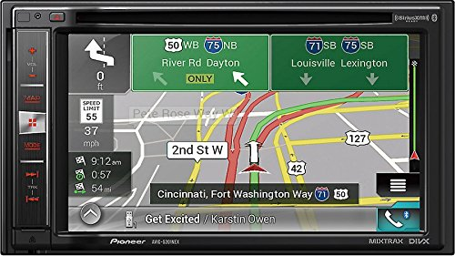 Pioneer AVIC-5201NEX In-Dash Navigation AV Receiver With 6.2″ WVGA Touchscreen Display