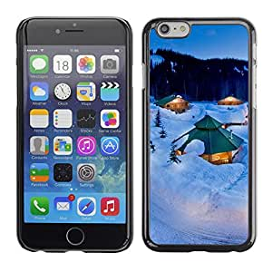 Hot Style Cell Phone PC Hard Case Cover // M00103042 winter photos // Apple iPhone 6 4.7""