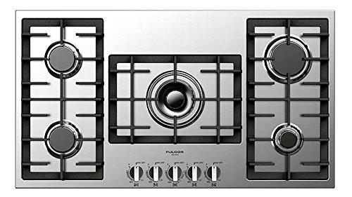 Amazon.com: Fulgor Milano f4gk36s1 400 Series Cooktop con 5 ...