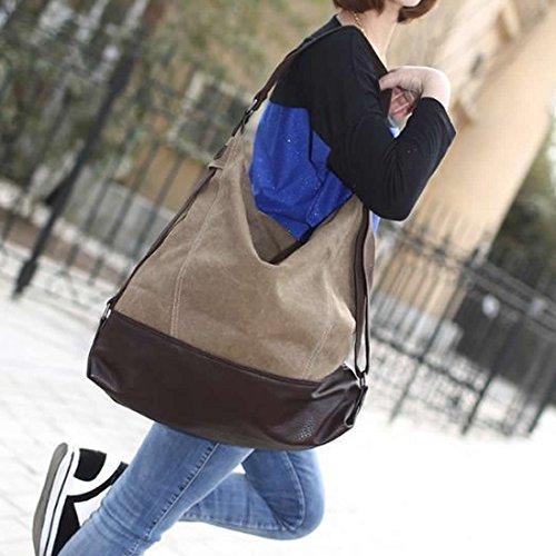Large Totes Shoulder Handbag Weekender Traveling Slouch Bag Hobo Retro Canvas Bags Bag Crossbody Blue Womens Shopping rrw5Aq1x