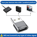 USB C Female to USB Male Adapter 4-Pack,Type C to