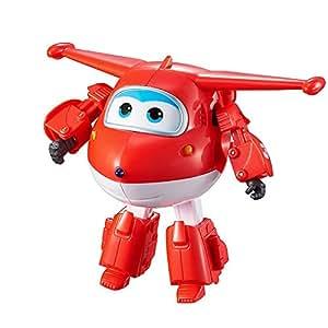Giochi Preziosi Jett, Plano Robot de caracteres convertibles dividido, alto 12 cm